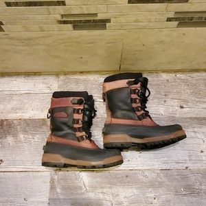 Columbia Bugabison Leather Winter Boots